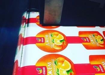 стикер окей джем апельсиновый -5