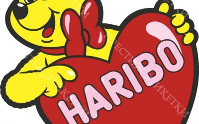Наклейка Haribo