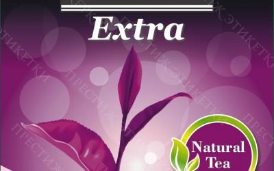 Beta Tea Extra - стикер на черный чай